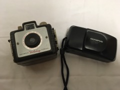 Kodak Holiday Brownie Camera  Olympus Stylus