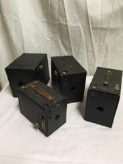 LOT 4 box  cameras