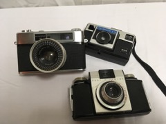 LOT  cameras  Kodak  Yashica