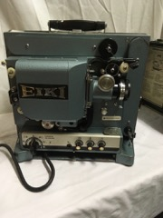 16mm EIKI film projector.