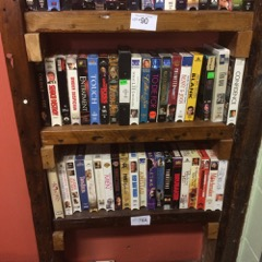 LOT VHS tapes  see picts for titles