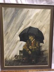 Painting by Douglas Stocks, Paris, Ontario
