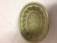 old_pottery_pudding_mould,_very_nice