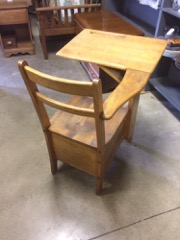 old_school_desk___with_drawer._Maple_wood._good_construction