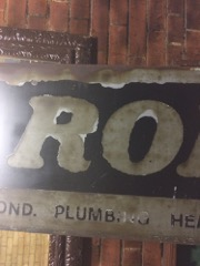Metal_Roberts_Sign___nice_aged_look.__heavy_galvanized_metal
