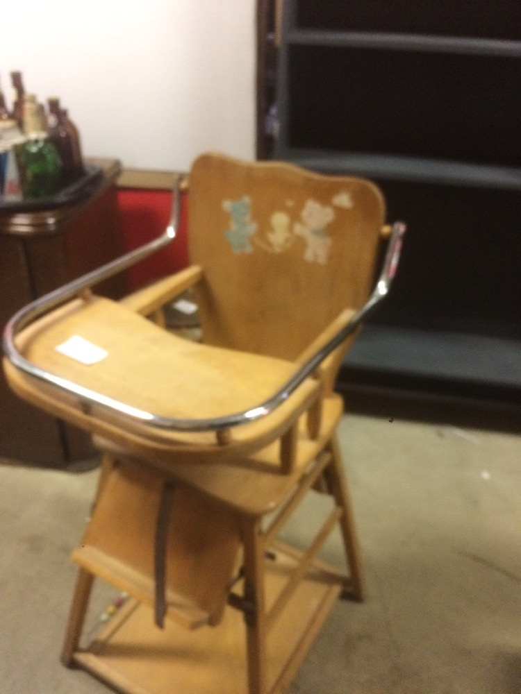 Retro High Chair Toddler