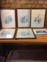 LOT, various pictures, Michael Dumas Prints