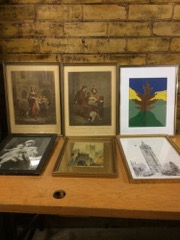 LOT, pictures in frames