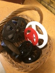LOT 8mm film reels,