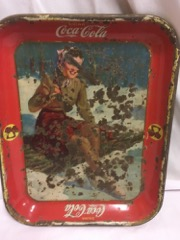 Antique_coca_cola_tray,_girl_snow,_original_authentic