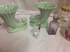 LOT,_glassware_and_pottery_planters