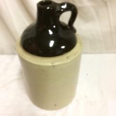 old salt glazed crock jug.  good condition.
