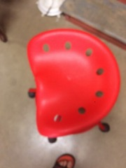 Red_office_backless_chair,_great_for_workshop