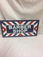 Metal Barber shop sign, metal, heavy