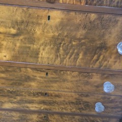 Canadiana_Burled_birds_eye_maple_dresser