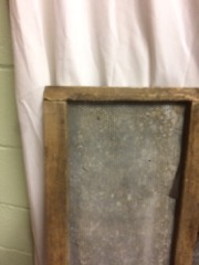 two_wood_framed_wire_mesh_,_rustic_artwork