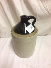 old salt glazed jug, nice condition