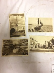 LOT, HMS Ganges postcards from 1941 (wartime training)