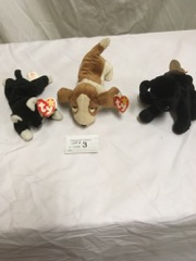 TY_Beanie_babies,_LOT_of_3