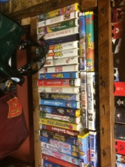 LOT,_VHS_tapes_#1_includes_lots_of_Disney