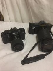 Minolta and Canon Cameras