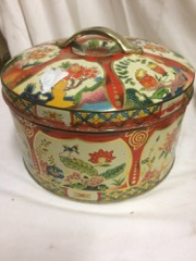 LOT,_three_old_english_biscuit_tins