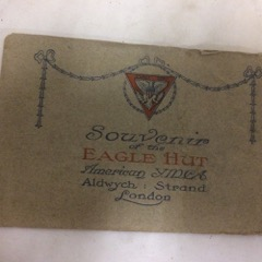 Souvenir of the Eagle Hut YMCA London WW1