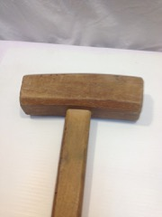 large_heavy_mallet,_wood,_good_overall