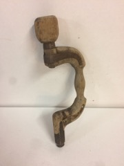 very_OLD_wooden_drill_brace,_great_display