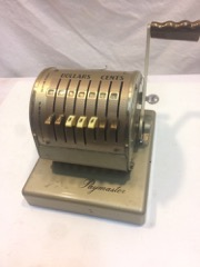 Paymaster cheque writer, vintage