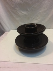 large_brown_porcelain_insulator,_great__planter