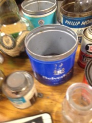 LOT,_old_tins_of_various_kinds,_and_bottles