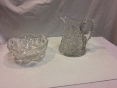 Lead_crystal_decanter_jug_and_candy_bowl