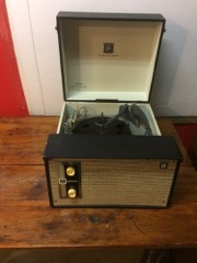 vintage JCPenny record player