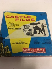 vintage caribou trail 16mm movie in box