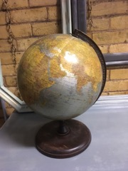 Cram's world globe