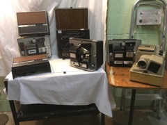 LOT old vintage projectors
