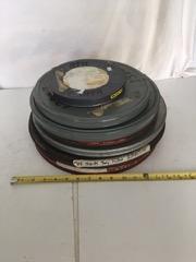 old 16mm film reels
