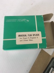 film splicer universal 8 or 16mm