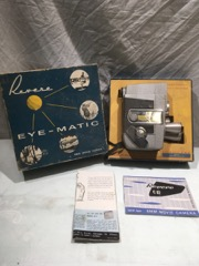 Revere C87 8mm movie camera tri lens in original box