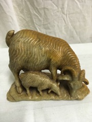 stone_carved_mountain_goat_w_kid_lovely_color_marked_HF