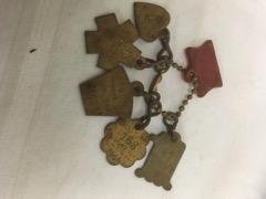 antique dog tags Berlin Ontario early 1900s
