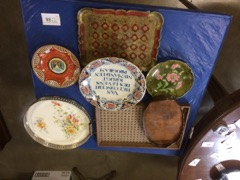 LOT platters and china