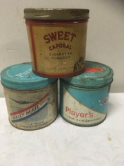 Sweet caporal daily mail players cigarette tins