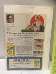 old advdrtising soap & palmolive