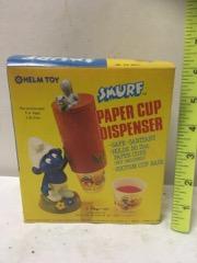 RARE Smurf helm toy dispenser
