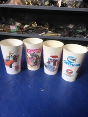 Gremlins collectable drink cups plastic